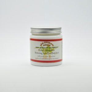 Скраб для тела с гранулами жожоба «Роза», 300 гр