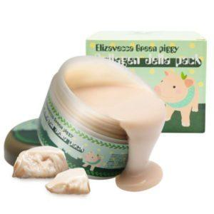 Elizavecca Green Piggy Collagen Jella Pack, Ночная маска для лица с коллагеном, 100 гр