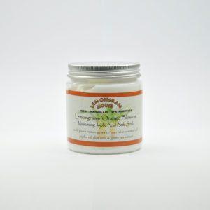 Скраб для тела с гранулами жожоба «Лемонграсс/апельсин», 300 гр