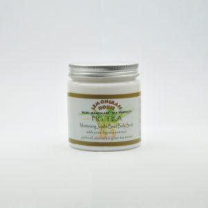 Скраб для тела с гранулами жожоба «Инжирный чай», 300 гр