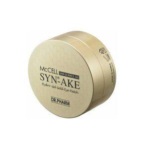 Dr.Phamor McCELL Skin Science 365 Syn-Ake Hydro-Gel Gold Eye, Патчи пептидные антивозрастные