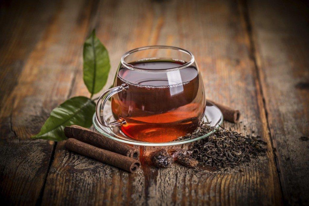 Элитный английский чай в косметике и его свойства