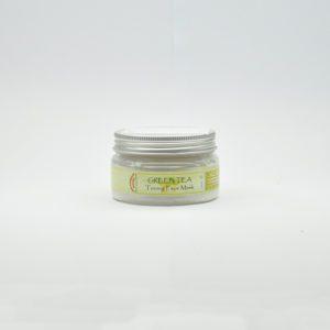 Маска для лица «Зеленый чай», 100 гр