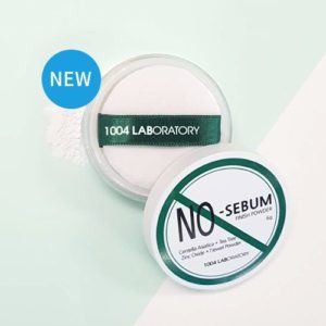 1004 Laboratory No-sebum Finish Powder, Финишная матирующая пудра для лица, 6 гр