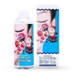 Elizavecca Hell-Pore Clean Up Aha Fruit Toner, Тонер-пилинг с фруктовыми кислотами, 150 мл