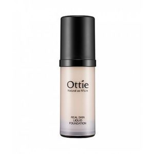 Ottie Real Skin Liquid Foundation Основа под макияж №3, темный беж, 40 мл