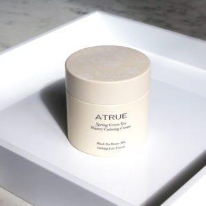 A'true Spring Green Tea Watery Calming Cream, Успокаивающий крем для лица, 80 мл