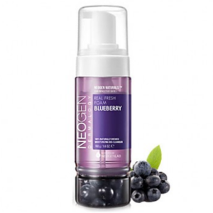 Neogen Real fresh foam #blueberry, Пенка для умывания с черникой, 150 мл