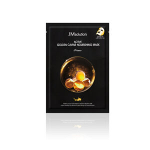 Jmsolution Solution Active Golden Caviar Nourshing Mask Prime, Тканевая маска антивозрастная с икрой