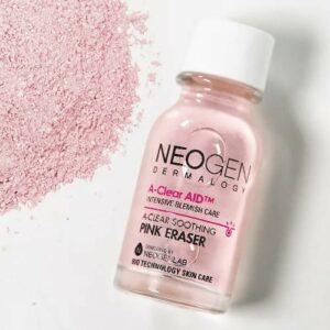 Neogen A-Clear Soothing Pink Eraser, Средство для борьбы с точечными воспалениями, 15 мл