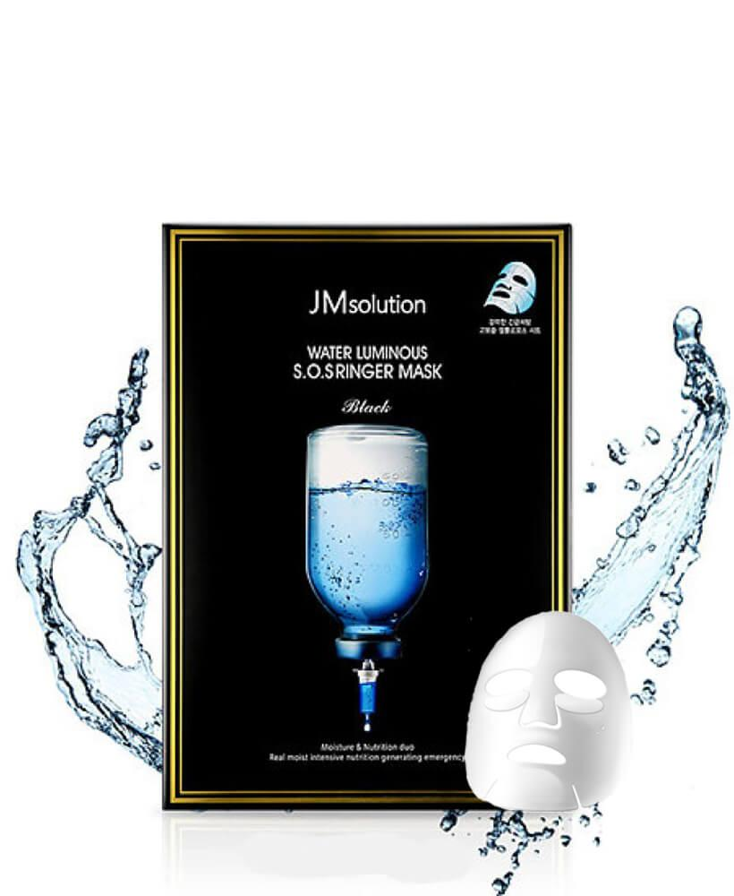 Jmsolution Water Luminous S.O.S Ringer Mask, Увлажняющая SOS-маска
