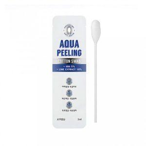 A'pieu Aqua peeling cotton swab  Пилинг-палочка для лица АНА 8%