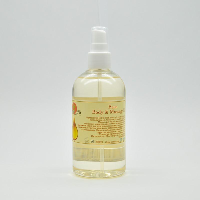 Aroma-Spa  Масло для тела и массажа (базовое), 300 мл