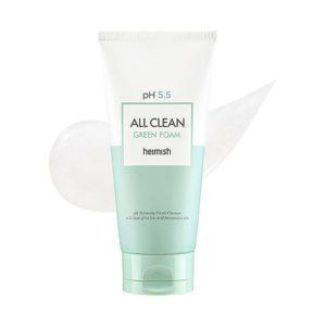 Heimish All Clean Green Foam, Гель-пенка для умывания с оптимальным РН-5,5, 150мл