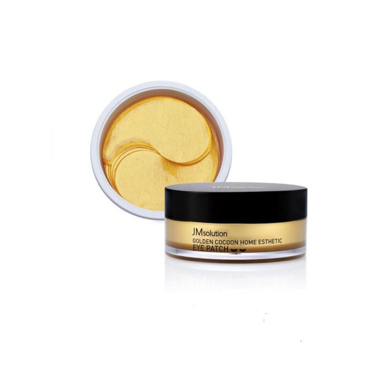 Jmsolution golden cocoon home esthetic eye patch, Патчи пептидные с золотым коконом, 60 шт