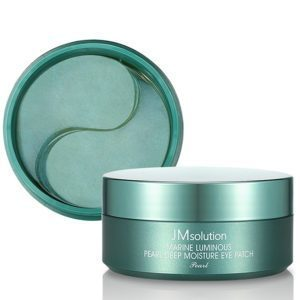 Jmsolution marine luminous pearl deep moisture eye patch pearl,Патчи с жемчугом для сияния кож,60 мл