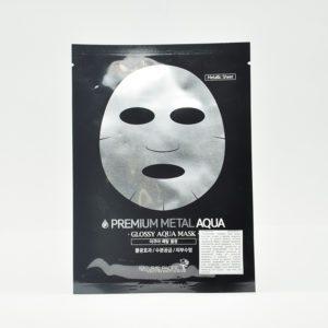 Natural Pacific Premium Metal Aqua, Фольгированная увлажняющая маска