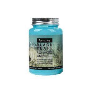 Farm Stay  Black Pears, Ампула для лица с черным жемчугом, 250 мл