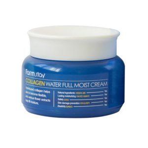 Farm Stay collagen moist cream, Крем для лица с морским коллагеном, 100 гр