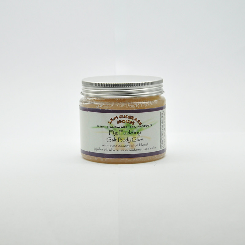 Солевой пилинг «Инжирный пудинг», 300 гр