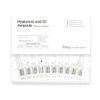 Hyaluronic Acid 50% 10 ampoules Ампулы гиалуроновые для мезороллера,10шт