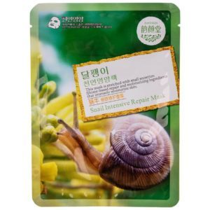 Belov East-Skin Collagen Mask Snail Тканевая маска с улиткой, 24 гр