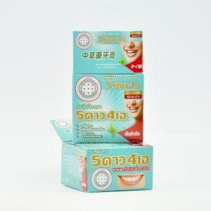 5 Star 4A Концентрированная зубная паста отбеливающая, 30 гр