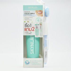 Skynlab Premium Fresh Smile Toothpaste  Деликатная отбеливающая паста, 160 мл