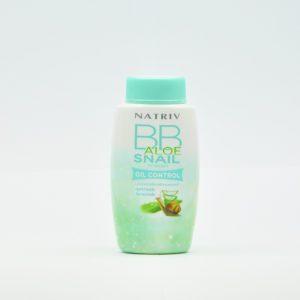 Natriv BB Aloe Snail Powder Рассыпчатая пудра улитка и алоэ, 50 гр