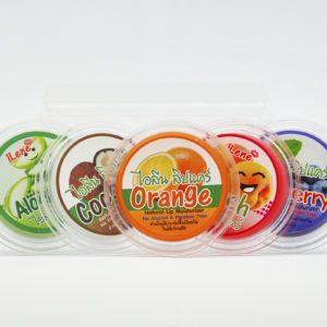 Бальзам для губ с кокосовым маслом и персиком, 10 гр