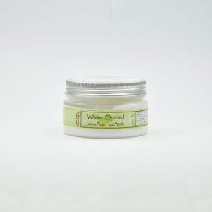 Скраб для лица с гранулами жожоба «Белая орхидея», 100 гр