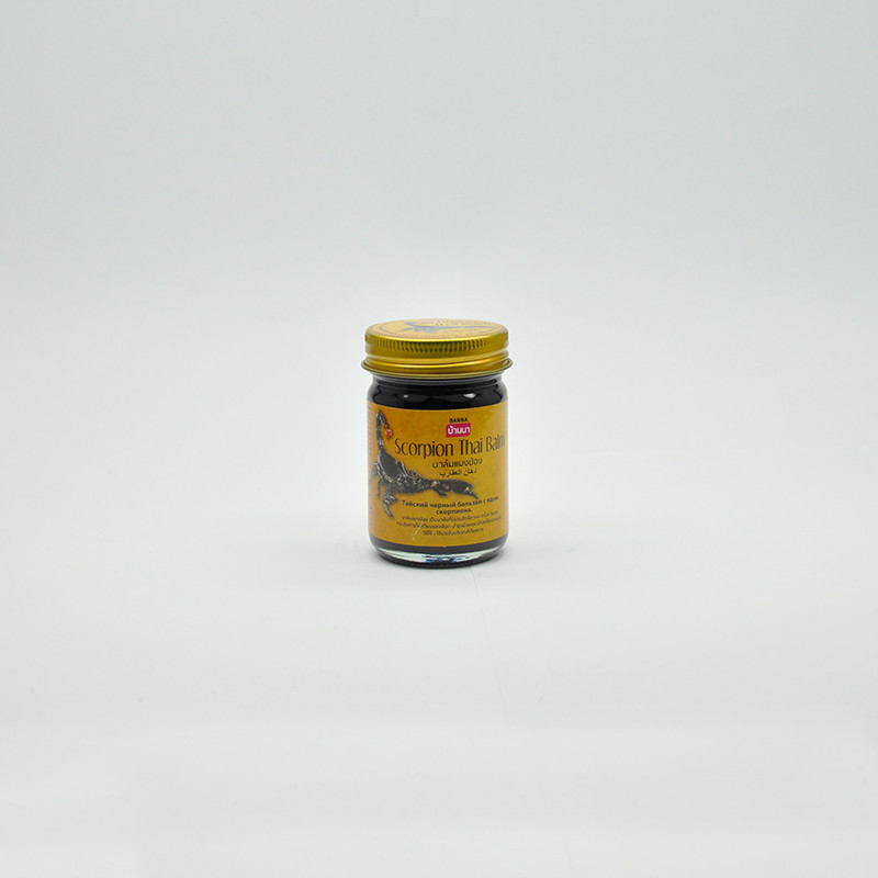 Banna Scorpion Thai Balm Бальзам с ядом скорпиона, 50 гр