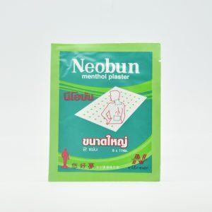 Neobun Ментоловый пластырь, 2 шт