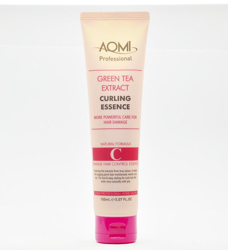 AOMI Green Tea Extract Curling Essence, Эссенция для укладки волос, 150 мл