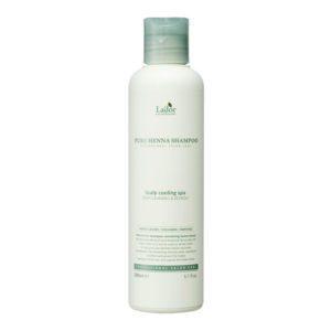 La'dor Pure Henna Shampoo, Освежающий шампунь с хной, кактусом и ментолом, 200 мл