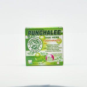 Punchalee Thai Herb Toothpaste Травяная зубная паста для чувствительных зубов, 25 гр