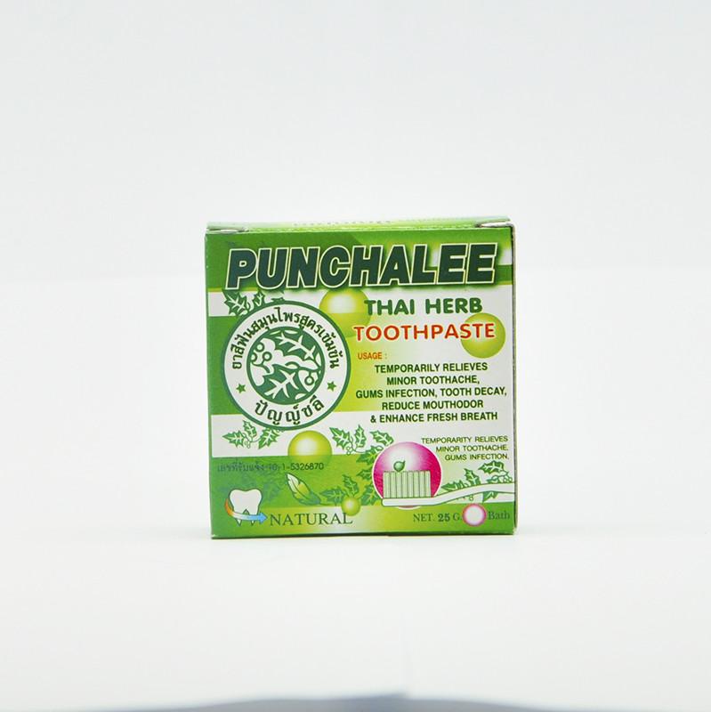 Punchalee Thai Herb Toothpaste Травяная зубная паста для чувствительных зубов, 35 гр