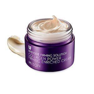 Mizon Collagen Power Firming Enriched Cream, Коллагеновый лифтинг крем  для лица, 50 мл
