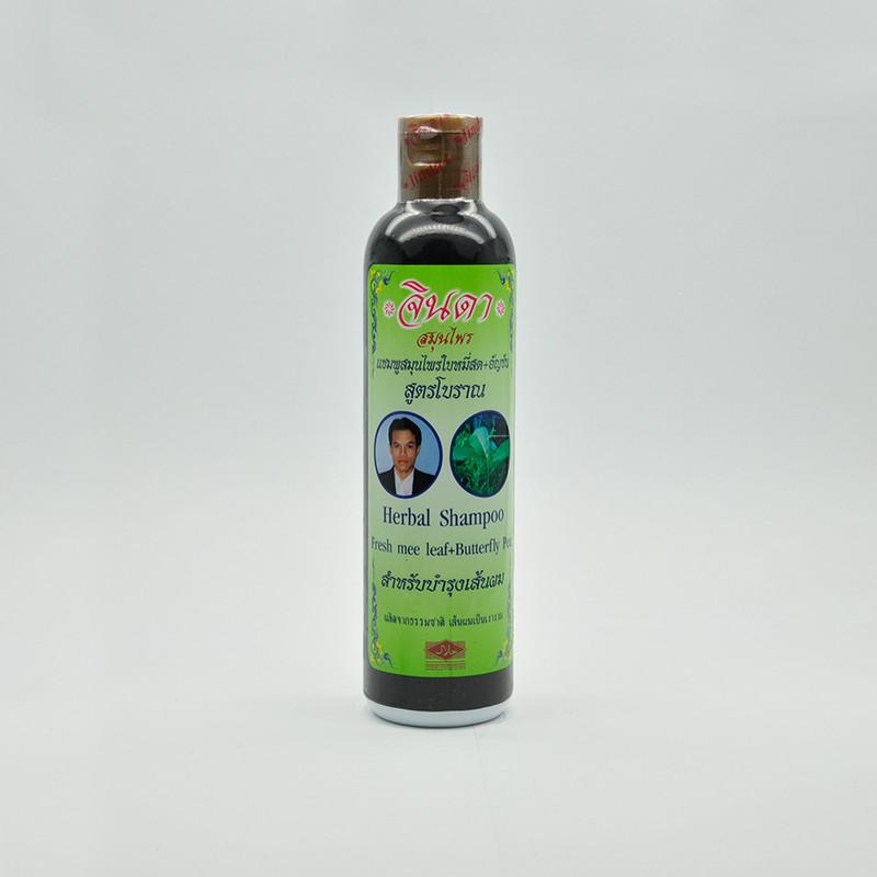 Jinda Hair shampoo formula Mee leaves Травяной шампунь от выпадения волос, 250 мл