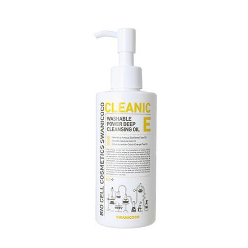 Swanicoco Washable oil cleanser, Глубокоочищающее витаминное гидрофильное масло, 200 мл