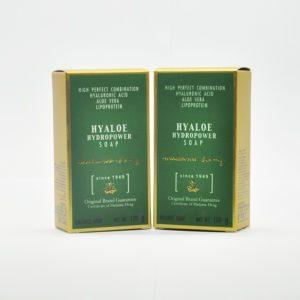 Madam Heng Madame Heng Hyaloe Hydro Power Soap, Мыло для лица с гиалуроновой кислотой и алоэ, 100 гр