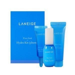 Laneige Water Bank Trial Kit Laneige (3 items), Набор миниатюр для лица 3 шт