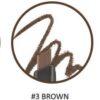 The Face Shop tfs.designing eyebrow 03 brown, Карандаш для бровей Коричневый, 03 12691