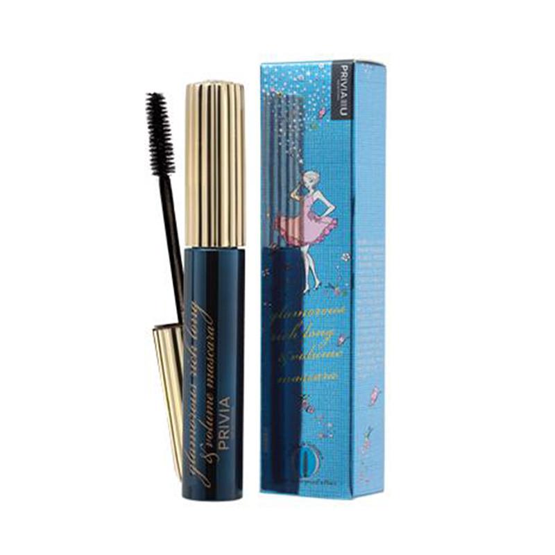 Privia Glamorous Rich Long&Volume Mascara, Объемная тушь для ресниц, 7 мл