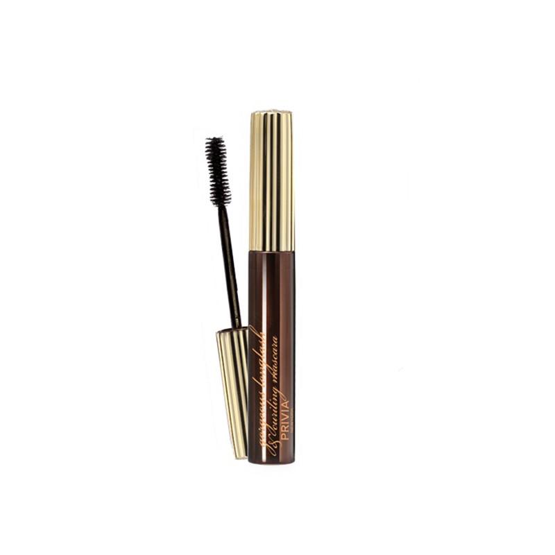 Privia Gorgeous Longlash&Curling Mascara, Тушь для ресниц длина, подкрутка, 7 мл