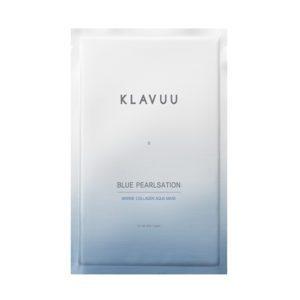 Klavuu blue pearlsation Marine Collagen Aqua Mask, Маска для лица с морским коллагеном