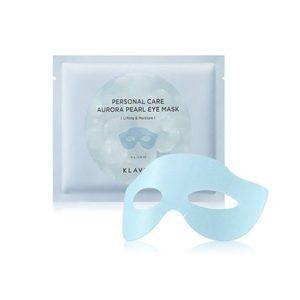 Klavuu personal care aurora pearl eye mask Lifting & Moisture, Маска для глаз лифтинг