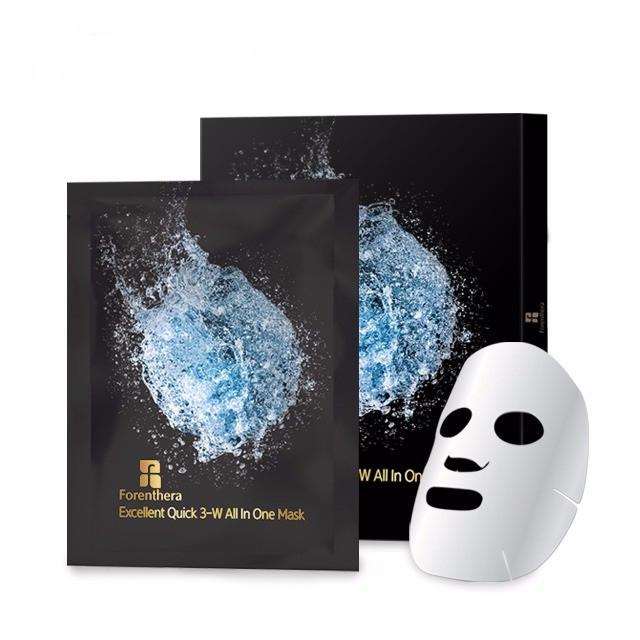 Forenthera Excellent Quick 3-W All In One Mask, Интенсивная восстанавливающая маска, 5 шт