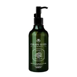 1004 Laboratory Grape Seed deep clean facial oil, Гидрофильное масло с маслом виноградной косточки 70%, 200гр