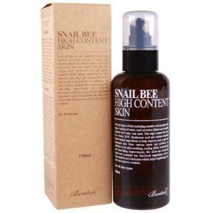 Benton Snail Bee High Content Skin, Тонер для лица с улиткой и прополисом, 120 мл